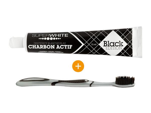 image Dentifrice Super white Black Edition